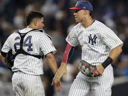 Aaron Judge Gary Sanchez Struggle In Game 1 Loss To Indians Newsday - tanaka pitches yankees to 6 3 win over slumping blue jays