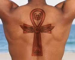 meaning and design ideas for ankh tattoos