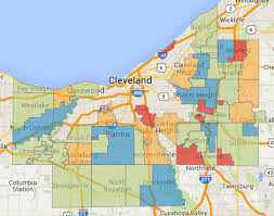 map of cleveland find greater cleveland s speed traps linndale bratenahl and