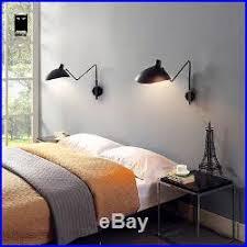 applique chambre design 1 bras serge mouille noir applique murale luminaire design le
