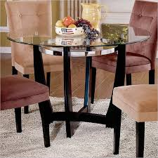 Round Glass Table And Chairs 60 Inch Round Dining Table Set Home Inspiration