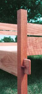 Bed Frame Joints Oak Bed Frame