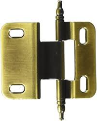 Non Self Closing Cabinet Hinges Amerock Pk7687mdae Non Self Closing Face Mount Hinge With 3 8in