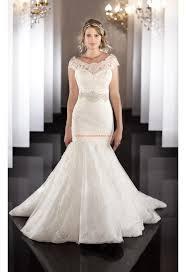 robe de mari e dentelle sirene robe de mariée sirène dentelle col bateaux ceinture