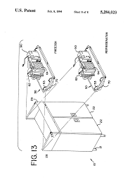 patent us5284023 reach in cooler with window google patents