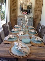 dining room table setting appealing dining room table settings with fine best beach ideas at