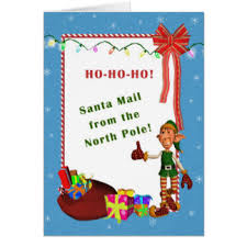 letter from santa cards invitations greeting u0026 photo cards zazzle