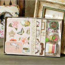 3 ring photo album scrapbooking binder photo album vintage chipboard album kit 3 ring