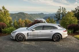 first porsche car 2018 porsche panamera sport turismo review first drive news