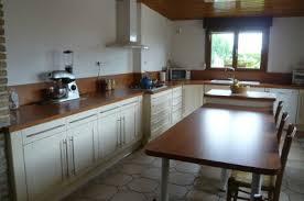 declic cuisine apres cuisine contemporaine en hetre laque beige tres tres