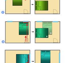 orientation lit chambre table et chaises de terrasse orientation lit feng shui