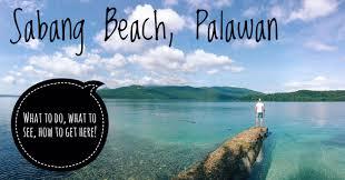 lexus van from puerto princesa to el nido sabang beach palawan phillipines everything you need to know