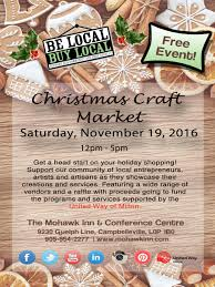 be local buy local christmas craft market mohawk inn