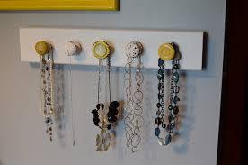 Jewelry Wall Hanger Jewelry Organizer Diy To Organize Your Jewelries