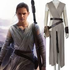 Star Wars Halloween Costumes 2016 Star Wars Costume Force Awakens Rey Cosplay