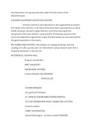 joyce camandang allied health assistant resume