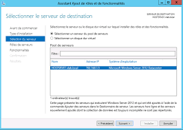 windows server 2012 installation du rôle de gestionnaire de