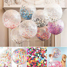 birthday helium balloons 5pcs 12 colorful confetti balloon birthday wedding party decor