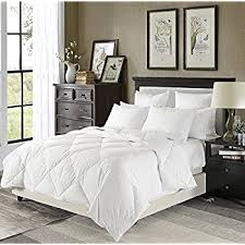 How Much Is It To Dry Clean A Down Comforter Amazon Com Puredown Lightweight Down Comforter Light Warmth Duvet