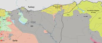 Syria Turkey Map by Isis Still Moving Faster Than Coalition Forces On Kobani Will