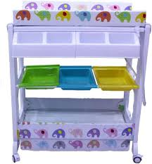 Changing Table With Bath Tub Baby Bath Tub Changing Table Bp 070 Babies Essentials