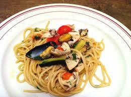 cuisiner des fruits de mer spaghettis aux fruits de mer envie de cuisiner