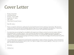 cover letter examples corporate trainer