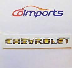 chevrolet tailgate letters ebay