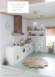 dollhouse furniture kitchen dollhouse kitchen reveal