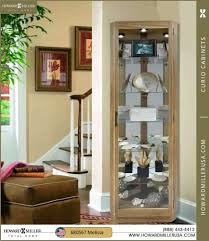 curio cabinet unforgettable howard miller corner curio cabinet