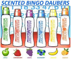 scented bingo daubers scented bingo markers ct bingo supply