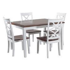 dining room table set alcott hill gingerich 5 dining set reviews wayfair