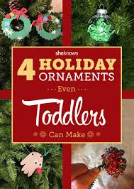 cute craft alert a ton of holiday ornaments kids can make