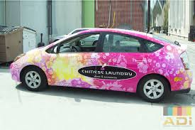 Toyota Prius Branding Caign In China Car Wraps