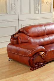 Antique Chesterfield Sofas by Aliexpress Com Buy Antique European Chesterfield Leather Sofa
