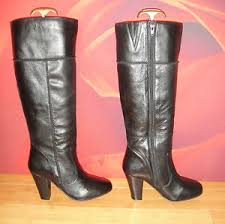 leather boots uk only superb avenue black leather boots uk 6 23 ebay