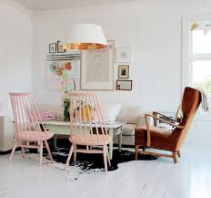 decor8blog fresh greens blues painted furniture chairs pink chairs and