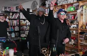 Npr Small Desk Run The Jewels Brought Energy To Npr S Tiny Desk Concert Series