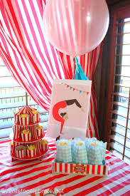 Circus Birthday Decorations Circus Baby Shower Ideas Events To Celebrate