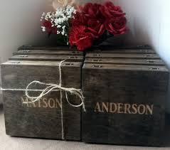 Wooden Groomsmen Gifts Groomsmen Gift 7 Rustic Laser Engraved Cigar Boxes