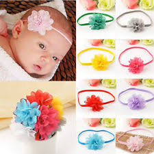 baby girl hair bands baby headbands flower crochet pastel ebay