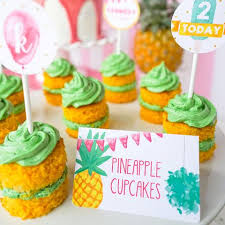 Tropical Themed Party Decorations - printable girls u0027 party themes popular invitations and decor for