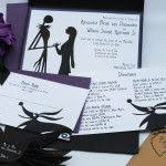 Nightmare Before Christmas Wedding Invitations Gothic Wedding Drinks Creepy Invitations 1 100 Creepy