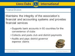 lions clubs international ppt
