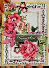Anna Griffin Card Making - happy easter handmade flowers greeting card anna griffin inspired
