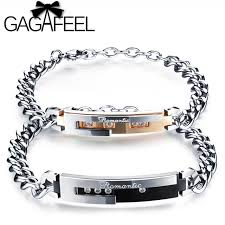 Customized Name Bracelets Aliexpress Com Buy Gagafeel Romantic Personalized Engraving Name