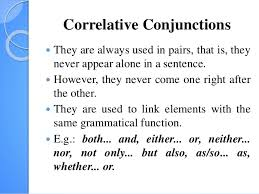 discourse markers conjunctions and prepositions