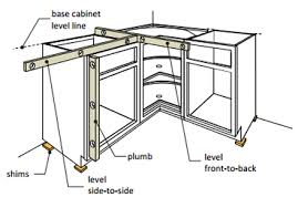best way to install base cabinets cabinet installation kitchen premade cabinets wholesalers