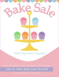 free bake sale flyer templates stackerx info