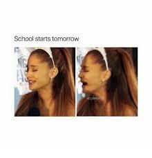 School Starts Tomorrow Meme - school starts tomorrow meme on me me